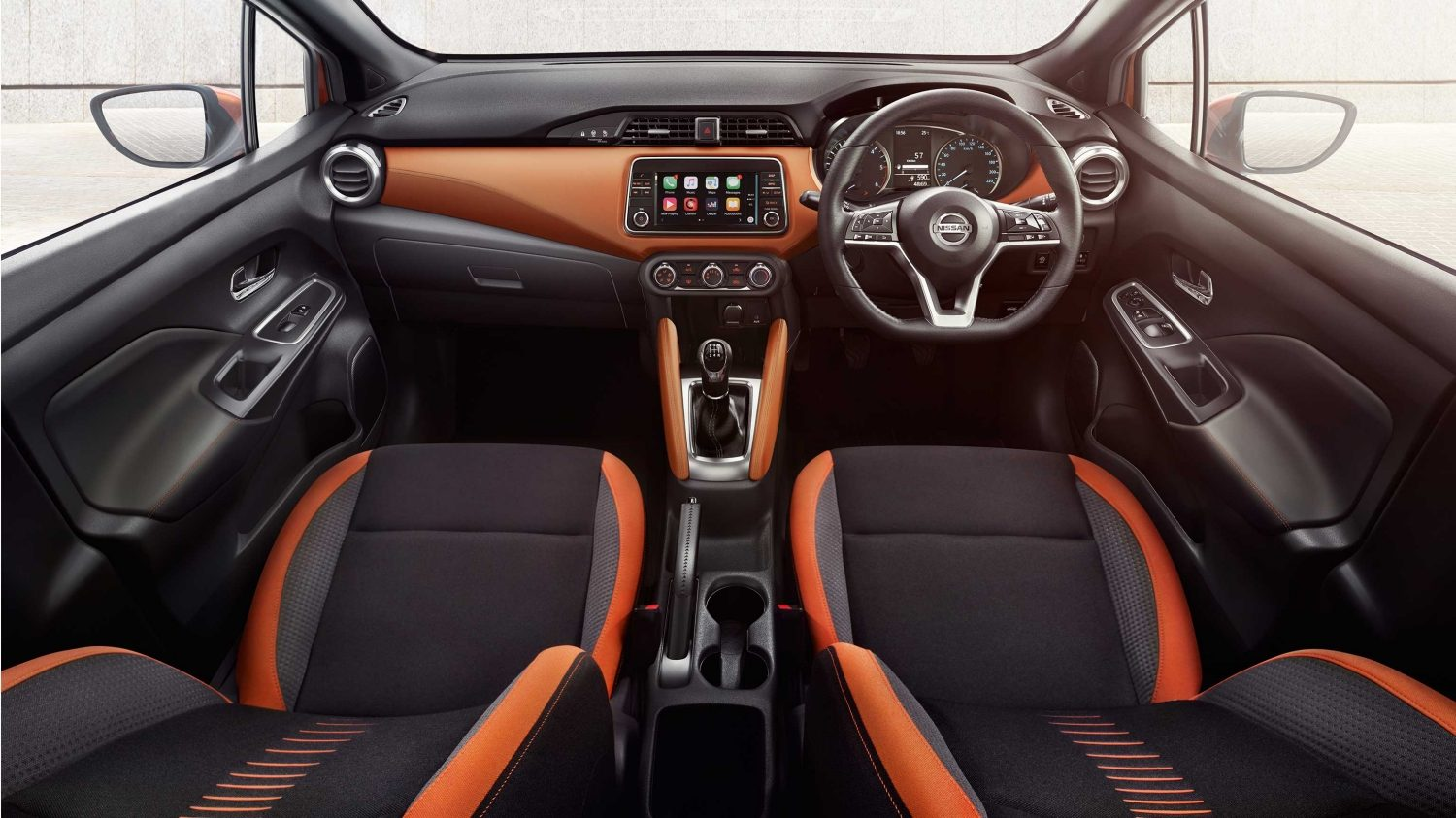 Micra Lifestyle Gallery Energy Orange Interior